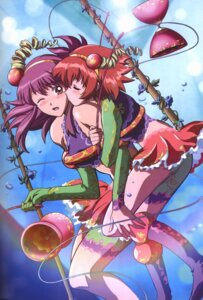 Rating: Safe Score: 15 Tags: kaleido_star naegino_sora rosetta_passel User: lazyguy