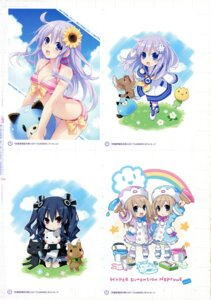 Rating: Questionable Score: 14 Tags: choujigen_game_neptune nepgear ram_(choujigen_game_neptune) rom_(choujigen_game_neptune) tsunako uni_(choujigen_game_neptune) User: Radioactive