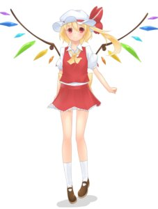 Rating: Questionable Score: 9 Tags: flandre_scarlet sakurea touhou wings User: gnarf1975