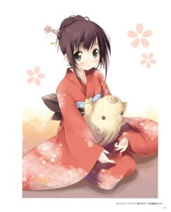 Rating: Safe Score: 37 Tags: 5_nenme_no_houkago kantoku kimono User: Kalafina