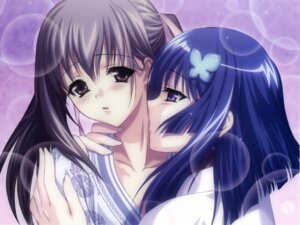 Rating: Questionable Score: 21 Tags: akaiito hal hatou_kei hatou_yumei success wallpaper yuri User: blooregardo