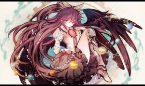 Rating: Safe Score: 28 Tags: hina reiuji_utsuho touhou wings User: fairyren