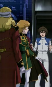 Rating: Safe Score: 4 Tags: audrey_burne banagher_links bodysuit dress full_frontal gundam gundam_unicorn mineva_zabi pantyhose uniform User: drop