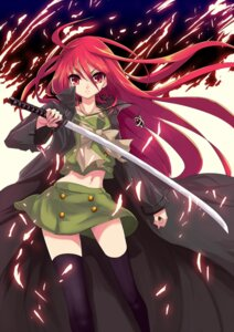 Rating: Safe Score: 29 Tags: realmbw seifuku shakugan_no_shana shana sword thighhighs User: charunetra