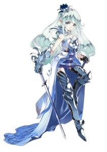 Rating: Safe Score: 26 Tags: armor himeou_to_saigo_no_kishidan pointy_ears sword thighhighs User: saemonnokami