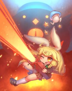 Rating: Safe Score: 6 Tags: cosplay kirisame_marisa pantsu reisen_udongein_inaba sankuma touhou User: Mr_GT