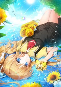 Rating: Safe Score: 21 Tags: air apple-caramel kamio_misuzu seifuku skirt_lift wet User: Mr_GT