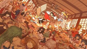 Rating: Safe Score: 80 Tags: aki_minoriko aki_shizuha alice_margatroid animal_ears bunny_ears chen cirno dahuang daiyousei doremy_sweet dress flandre_scarlet fujiwara_no_mokou futatsuiwa_mamizou hakurei_reimu hata_no_kokoro hieda_no_akyuu hijiri_byakuren hinanawi_tenshi horns houjuu_nue houraisan_kaguya ibuki_suika imaizumi_kagerou inaba_tewi inubashiri_momiji izayoi_sakuya kagiyama_hina kaku_seiga kawashiro_nitori kazami_yuuka kijin_seija kirisame_marisa kishin_sagume kochiya_sanae konpaku_youmu kumoi_ichirin maid mononobe_no_futo moriya_suwako murasa_minamitsu mystia_lorelei nagae_iku nazrin onozuka_komachi patchouli_knowledge reisen_udongein_inaba remilia_scarlet ringo_(touhou) rumia saigyouji_yuyuko sekibanki shameimaru_aya shikieiki_yamaxanadu soga_no_tojiko sukuna_shinmyoumaru tail tatara_kogasa toramaru_shou touhou toyosatomimi_no_miko tsukumo_benben wakasagihime wings witch wriggle_nightbug yagokoro_eirin yakumo_ran yakumo_yukari yasaka_kanako User: Mr_GT