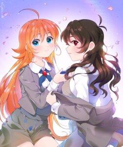 Rating: Questionable Score: 9 Tags: arima_ahiru dodmsdk kuroha_rue princess_tutu seifuku undressing yuri User: animeprincess