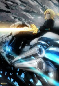 Rating: Safe Score: 20 Tags: fate/stay_night fate/zero magicians saber sword User: Arcalius