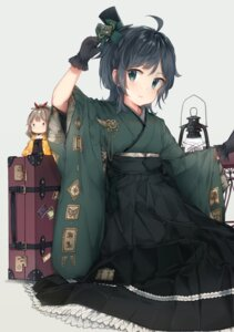Rating: Safe Score: 12 Tags: chibi japanese_clothes kantai_collection malachite matsukaze_(kancolle) User: Mr_GT