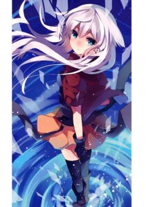 Rating: Safe Score: 50 Tags: anceril_sacred mishima_kurone shirokami_kyoudan thighhighs User: Hatsukoi