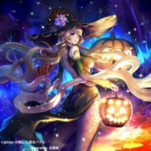 Rating: Questionable Score: 12 Tags: ass chinadress daisenran!!_sangokushi_battle halloween no_bra skirt_lift sukeaku_rou witch User: mash