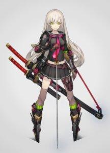Rating: Safe Score: 81 Tags: seifuku sword thighhighs yucca-612 User: Radioactive
