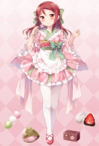 Rating: Safe Score: 47 Tags: hazuki_(sutasuta) love_live!_sunshine!! maid pantyhose sakurauchi_riko wa_maid User: Mr_GT