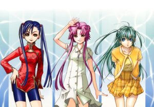 Rating: Safe Score: 11 Tags: aika_granzchesta alice_carroll amano_kozue aria dress mizunashi_akari User: charunetra