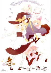 Rating: Safe Score: 2 Tags: alice_margatroid kirisame_marisa microstoria shanghai tommy touhou witch User: Radioactive