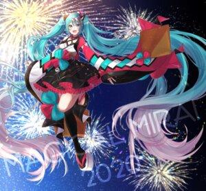 Rating: Safe Score: 17 Tags: hatsune_miku japanese_clothes magical_mirai mizuamemochimochi vocaloid User: charunetra