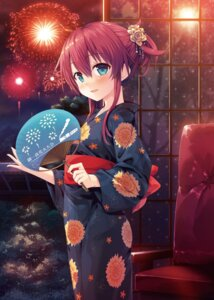 Rating: Safe Score: 77 Tags: cura digital_version lose maitetsu migita_hibiki yukata User: Twinsenzw