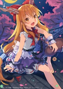 Rating: Questionable Score: 25 Tags: horns ibuki_suika rie touhou User: Radioactive