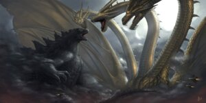 Rating: Safe Score: 26 Tags: duan_henglong godzilla king_ghidorah monster User: Radioactive