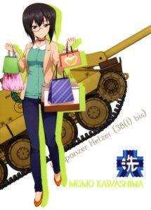 Rating: Safe Score: 9 Tags: girls_und_panzer heels kawashima_momo megane tagme User: drop