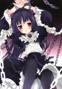 Rating: Questionable Score: 80 Tags: bondage dress gokou_ruri karomix karory lolita_fashion ore_no_imouto_ga_konnani_kawaii_wake_ga_nai pantyhose User: Twinsenzw