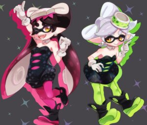 Rating: Safe Score: 9 Tags: aori_(splatoon) dress hotaru_(splatoon) pantyhose pointy_ears splatoon yupiteru User: cosmic+T5