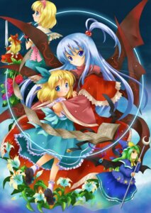 Rating: Safe Score: 7 Tags: alice_margatroid alice_margatroid_(young) michii_yuuki mima shinki touhou User: konstargirl
