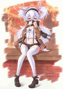 Rating: Safe Score: 32 Tags: animal_ears azur_lane bunny_ears cleavage heels laffey_(azur_lane) miso_(b7669726) pantsu shimapan thighhighs User: Mr_GT