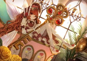 Rating: Safe Score: 22 Tags: heels lolita_fashion pantyhose tagme wings User: BattlequeenYume