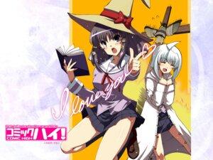 Rating: Safe Score: 12 Tags: jpeg_artifacts matsuzaki_yutaka seifuku wallpaper witch User: edogawaconan
