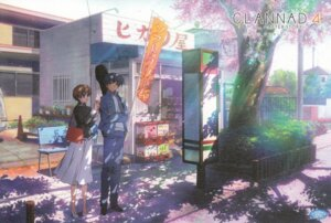 Rating: Safe Score: 7 Tags: clannad ibuki_kouko screening yoshino_yusuke User: yanis