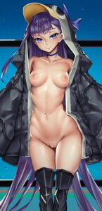 Rating: Explicit Score: 42 Tags: bottomless breasts fate/grand_order nipples no_bra open_shirt penguin pussy tagme thighhighs uncensored viola_(seed) User: langyaY