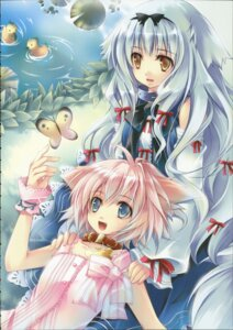 Rating: Safe Score: 10 Tags: animal_ears lily_(w&l) ta_kaana wanko wanko_to_lily User: admin2
