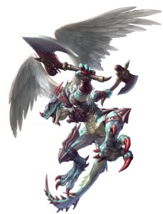Rating: Safe Score: 6 Tags: aeon_calcos horns male monster soul_calibur soul_calibur_v weapon wings User: Radioactive