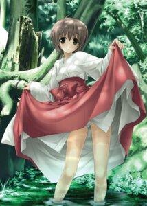 Rating: Questionable Score: 18 Tags: amatsume_akira hashimoto_takashi miko pantsu possible_duplicate skirt_lift sphere wet yosuga_no_sora User: Radioactive