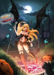 Rating: Questionable Score: 34 Tags: bikini cleavage garter halloween heels horns hoshii_miki momong neko see_through swimsuits the_idolm@ster the_idolm@ster_cinderella_girls thighhighs wings User: mash