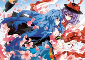 Rating: Safe Score: 18 Tags: hinanawi_tenshi kyrish nagae_iku touhou User: Radioactive