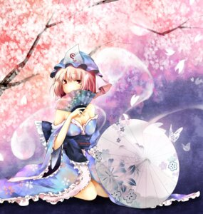 Rating: Safe Score: 16 Tags: cleavage japanese_clothes rokusai saigyouji_yuyuko touhou User: 椎名深夏