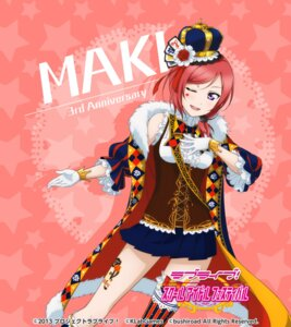 Rating: Safe Score: 44 Tags: love_live! love_live!_school_idol_festival nishikino_maki tattoo thighhighs User: saemonnokami