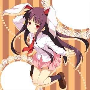 Rating: Safe Score: 32 Tags: animal_ears bunny_ears cosplay houraisan_kaguya touhou yamasan User: Nekotsúh