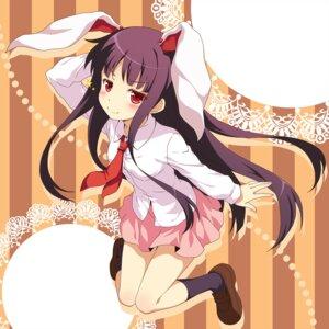 Rating: Safe Score: 33 Tags: animal_ears bunny_ears cosplay houraisan_kaguya touhou yamasan User: Nekotsúh