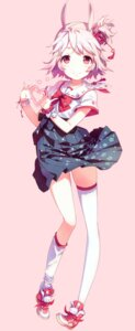 Rating: Safe Score: 54 Tags: animal_ears h2so4 island_of_horizon thighhighs User: yong