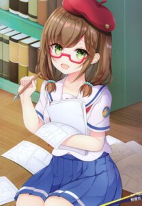 Rating: Safe Score: 16 Tags: aoki_momo high_school_fleet kiyui megane possible_duplicate seifuku User: fireattack