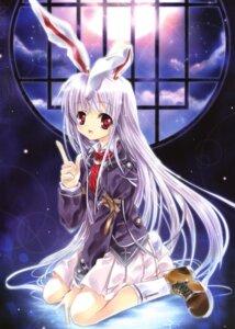Rating: Safe Score: 12 Tags: animal_ears bunny_ears capura.l reisen_udongein_inaba touhou User: Davison