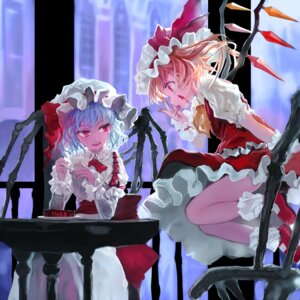 Rating: Safe Score: 41 Tags: bob flandre_scarlet remilia_scarlet touhou wings User: Mr_GT