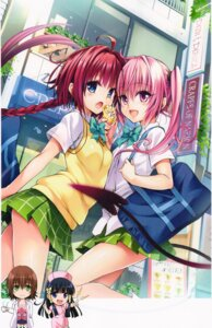 Rating: Safe Score: 66 Tags: chibi kurosaki_mea nana_asta_deviluke nurse seifuku tail to_love_ru to_love_ru_darkness yabuki_kentarou User: 椎名深夏