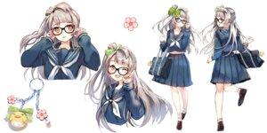 Rating: Safe Score: 28 Tags: character_design love_live! megane minami_kotori seifuku sheska_xue User: saemonnokami