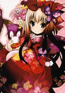 Rating: Safe Score: 10 Tags: kimono shinkichi. usadama User: MirrorMagpie